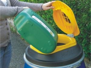 Posoda 115L za ulični zajem odpadnega jedilnega olja