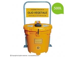 Olivia 500L Ulična posoda za zbiranje odpadnega jedilnega olja