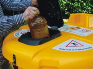 Olivia 800L Ulična posoda za zbiranje odpadnega jedilnega olja