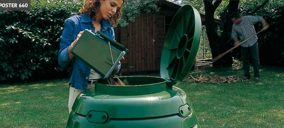 Termo komposter 660L