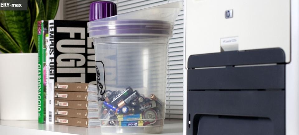 Zbiranje iztrošenih baterijskih vložkov